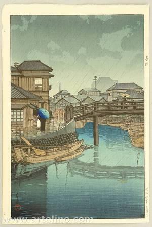Kawase Hasui: Shinagawa - Artelino