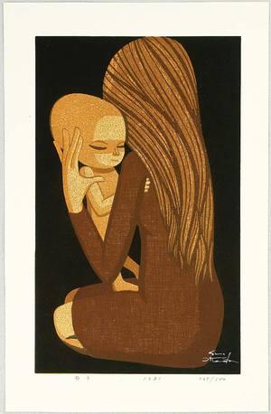 Ikeda Shuzo: Mother and Child - Artelino