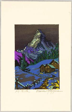 Morozumi Osamu: Freezing Night - Switzerland - Artelino