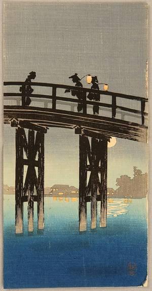 Takahashi Hiroaki: Bridge at Night - Artelino