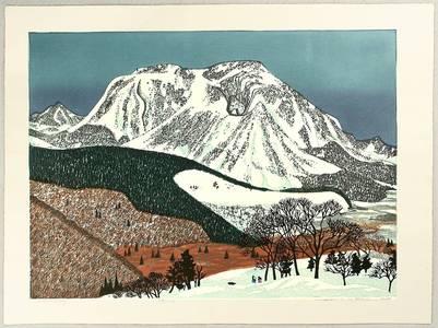 北岡文雄: Snowy Mountain - Artelino