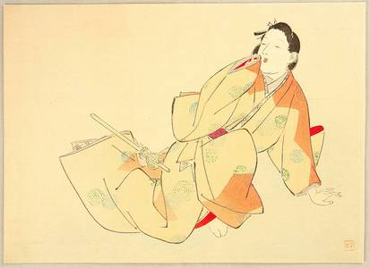 Kajita Hanko: Beauty in Genroku Era - Artelino