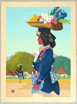 前田藤四郎: Woman from Ohara - Artelino