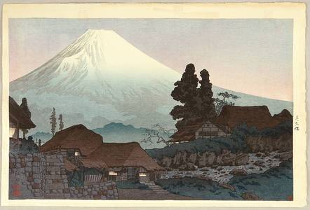高橋弘明: Mt. Fuji Seen from Mizukubo - Artelino