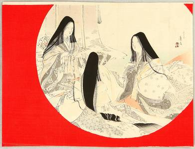 Tomioka Eisen: Court Ladies - Artelino