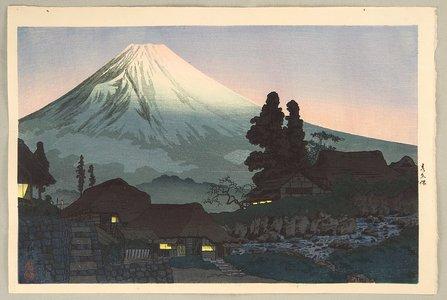 Takahashi Hiroaki: Mt. Fuji Seen from Mizukubo - Artelino
