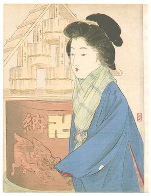 武内桂舟: Lady in Winter - Artelino