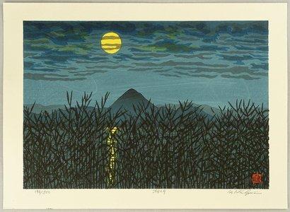 Nishijima Katsuyuki: Moon over a Lake - Artelino
