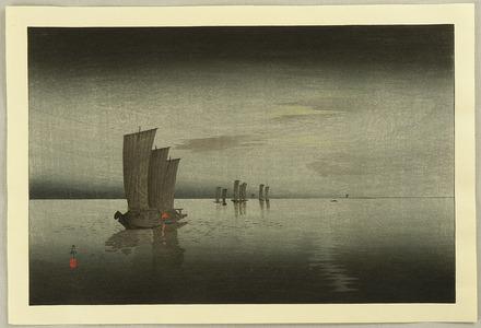 小原古邨: Fishing Boats - Artelino