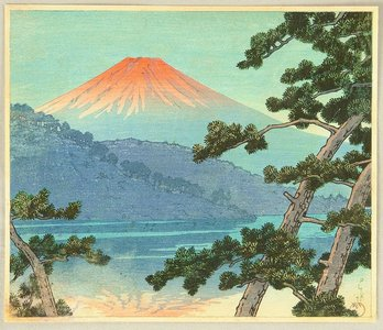 川瀬巴水: Mt. Fuji - Artelino