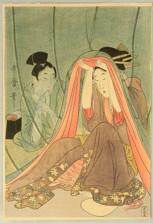 Kitagawa Utamaro: Lovers - Artelino