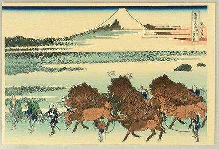 葛飾北斎: Fugaku Sanju-rokkei - Nitta - Artelino
