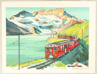 両角修: Bernina Railway - Switzerland - Artelino