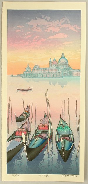 Okamoto Ryusei: Venice - Evening - Artelino