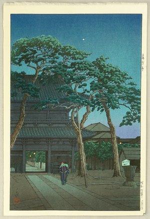 川瀬巴水: SengakuTemple - Artelino