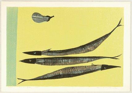 Shima Tamami: Fish and Eggplant - Artelino