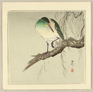 Ohara Koson: Green Heron - Artelino
