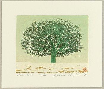 Kaneko Kunio: Green Tree - Artelino