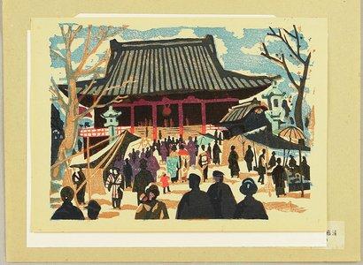 Asai Kiyoshi: Tokyo Kaiko Zue - Asakusa Kannon-do - Artelino