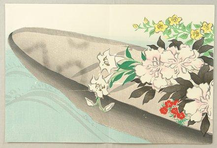 Kamisaka Sekka: Flower Boat - Momoyo Gusa - Artelino