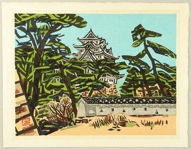 Okiie: Himeji Castle in Early Spring - Artelino