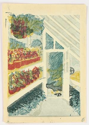 恩地孝四郎: The Shinjuku Gyoen National Garden - Greenhouse - Artelino