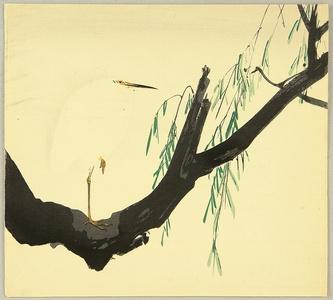 静湖: Heron and Willow - Artelino