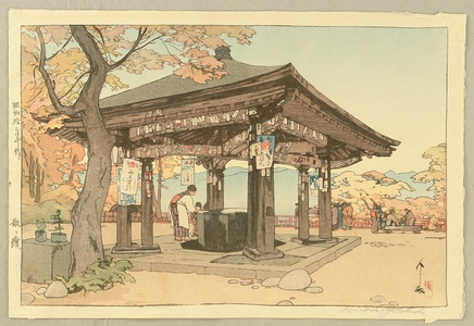 吉田博: Utagahama - Artelino