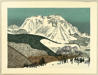 Kitaoka Fumio: Snowy Mountain - Artelino