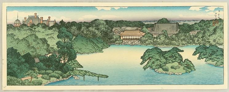 Kawase Hasui: Daisensui Pond - Artelino