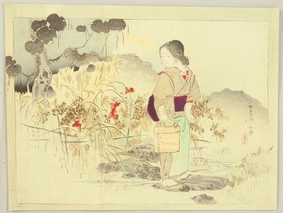 Mishima Shoso: Red Flower - Artelino