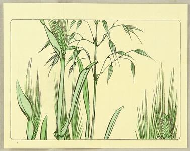 Shibata Zeshin: Grain - Hana Kurabe - Artelino