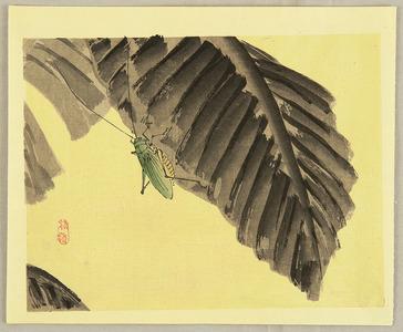 幸野楳嶺: Grasshopper - Artelino