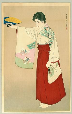 Ito Shinsui: Dancer - Artelino