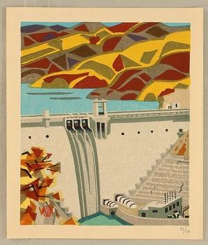 橋本興家: Hydroelectric Power Station at Igawa River - Artelino