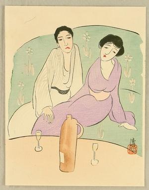 Asai Kiyoshi: Wine for Two - Artelino