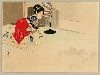 Mizuno Toshikata: Shadow of Tree - Artelino