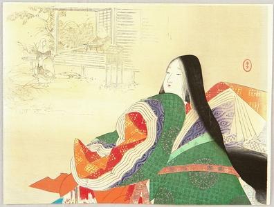 水野年方: Empress Tokuko - Artelino