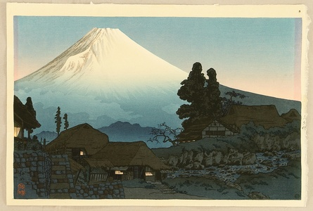 高橋弘明: Mt. Fuji Seen from Mizukubo - Artelino