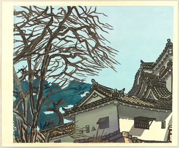 Okiie: Hikone Castle in Early Spring - Artelino
