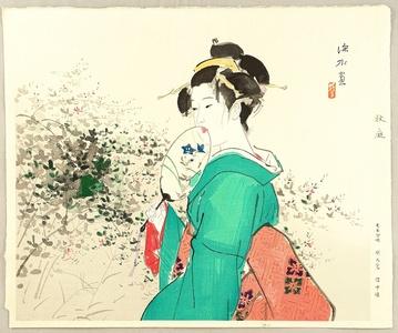Ito Shinsui: Autumn Garden - Artelino