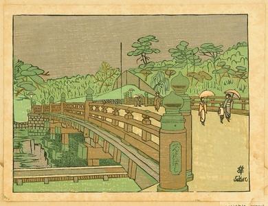 Sekino Junichiro: Recollections of Tokyo - Benkei Bridge - Artelino