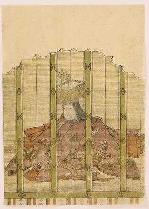 Katsukawa Shunsho: 100 Poems by 100 Poets - Empress Jito - Artelino