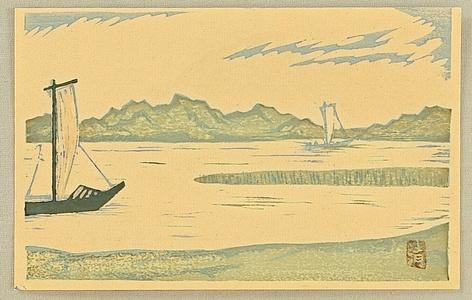 Asai Kiyoshi: Sailing Boats - Artelino