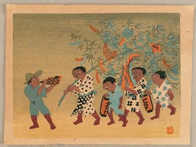 Mori Doshun: Star Festival in Hida - Japanese Native Customs - Artelino