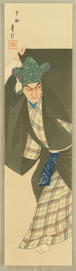 Hasegawa Sadanobu III: Earth Spider - Kabuki - Artelino