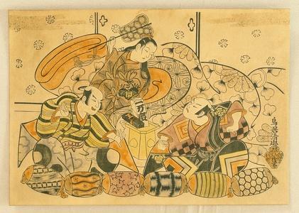 鳥居清忠: Kabuki Actors - Artelino