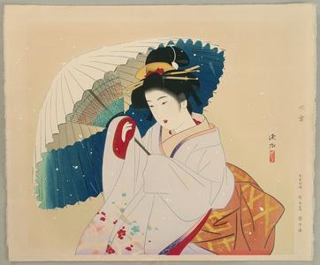 Ito Shinsui: Snow Storm - Artelino