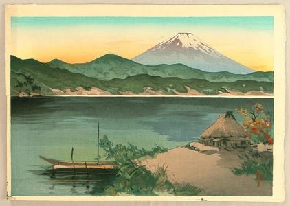 無款: Mt. Fuji From Lake Hakone - Artelino