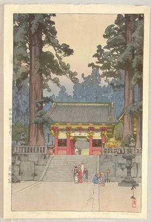Yoshida Hiroshi: Toshogu Shrine - Artelino